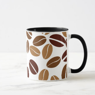 Coffee Bean - Classic White Mug / Black Interior