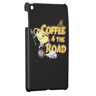 Coffee bean for the road by Valxart com iPad Mini Covers