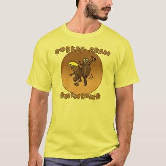 Coffee Bean Grinding T-Shirt