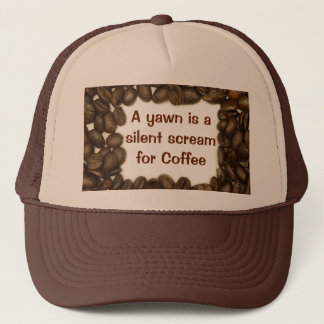 Coffee bean hat