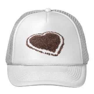Coffee Bean Heart Trucker Hat