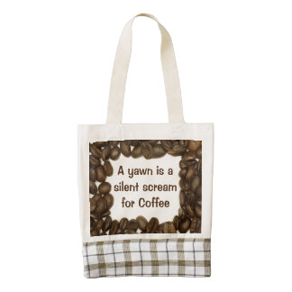 Coffee bean Heart tote bag Zazzle HEART Tote Bag