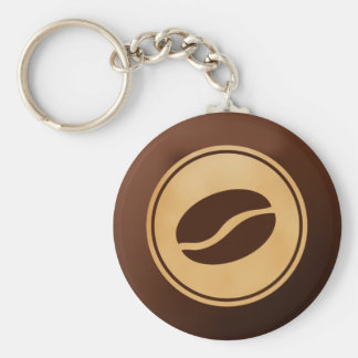 Coffee Bean Keychain