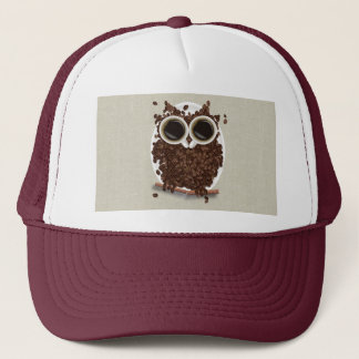 Coffee Bean Owl Trucker Hat