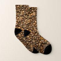 Coffee Bean Pattern Socks