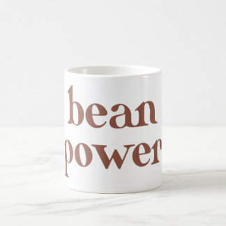 coffee bean power coffee mug