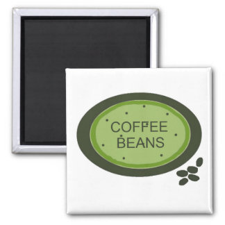 Coffee Bean Sign Magnet