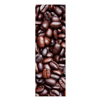 Coffee Bean Template - Customized Dark Roast Beans Business Card Template