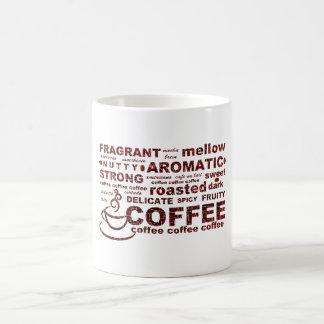 Coffee Bean Text Coffee Mug