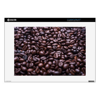 """Coffee Beans 15"""" Laptop Decals"""