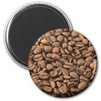 Coffee Beans 2 Inch Round Magnet
