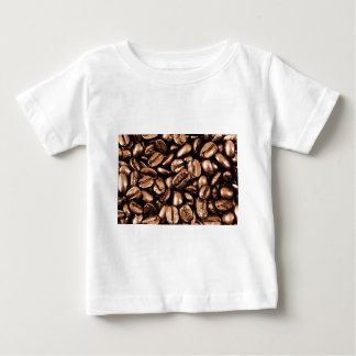 Coffee Beans Abstract refreshment restaurant coca Baby T-Shirt