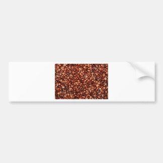 Coffee Beans Abstract refreshment restaurant coca Bumper Sticker