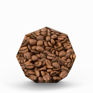 Coffee Beans Acrylic Award