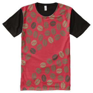 coffee beans All-Over-Print T-Shirt