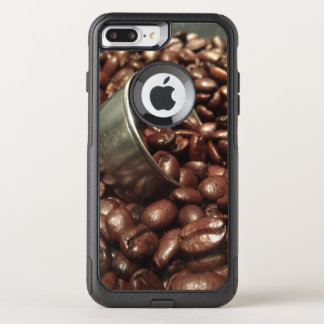 Coffee Beans and Silver Scoop Photograph OtterBox Commuter iPhone 7 Plus Case