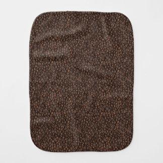 Coffee Beans Baby Burp Cloth