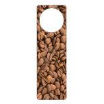 Coffee Beans Background Door Knob Hanger