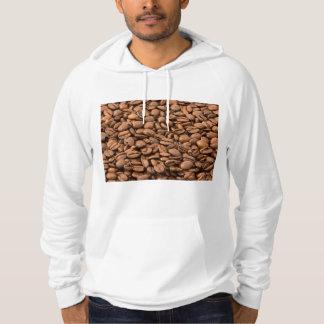 Coffee Beans Background Hoodie