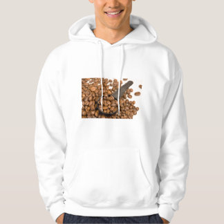 Coffee Beans Background Hoodie