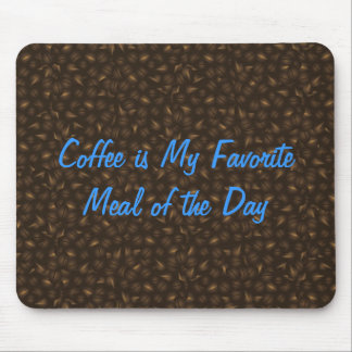 Coffee Beans Background Mousepad