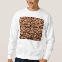 Coffee Beans Background Sweatshirt