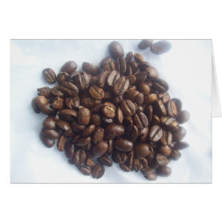 Coffee Beans Card