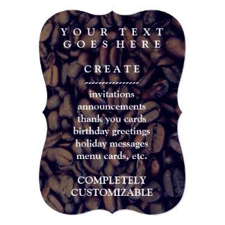 coffee beans card