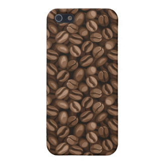 Coffee beans case for iPhone SE/5/5s