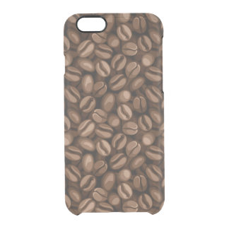 Coffee beans clear iPhone 6/6S case