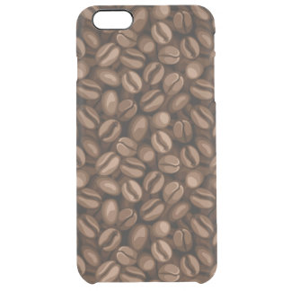 Coffee beans clear iPhone 6 plus case