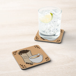 Coffee Beans Coffee Cup Drink Coaster Set (6)
