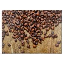 Coffee Beans Cutting Board