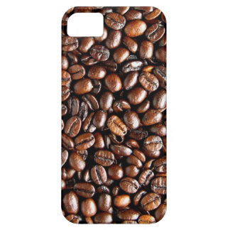 Coffee Beans Dark and Roasted Texture Pattern iPhone 5 Case