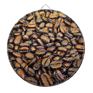 coffee beans dart boards