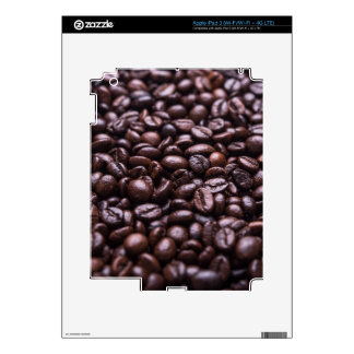 Coffee Beans Decals For iPad 3