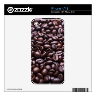 Coffee Beans Decals For The iPhone 4S