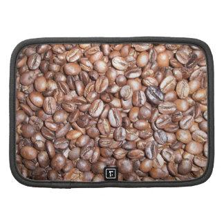 Coffee beans design organizers