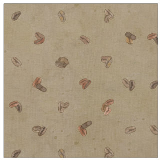 Coffee Beans diamond pattern Texture Deja Brew Fabric