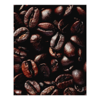 Coffee beans flyer