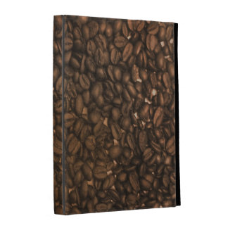 Coffee beans for coffee lovers iPad case