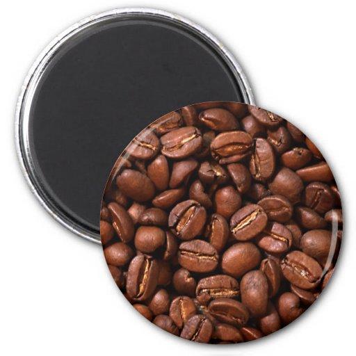 Coffee Beans Fridge Magnets