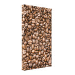 Coffee beans gallery wrap canvas