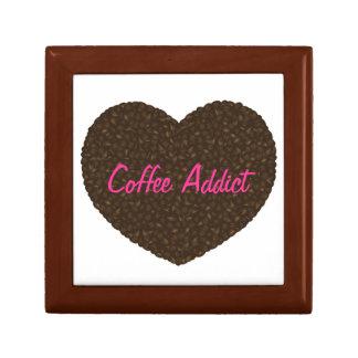 Coffee Beans Heart Shape Giftbox Jewelry Box