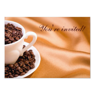 Coffee beans cards