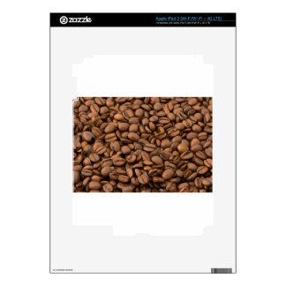 Coffee Beans iPad 3 Decal