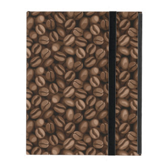Coffee beans iPad folio case
