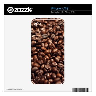 Coffee Beans iPhone 4S Decal