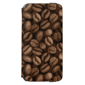 Coffee beans iPhone 6/6s wallet case