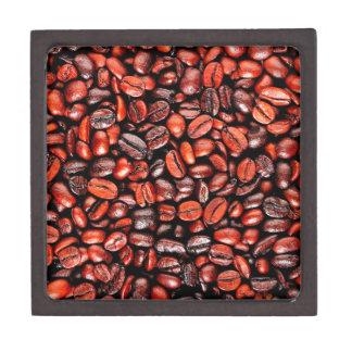 Coffee beans jewelry box